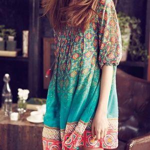 Tanvi Kedia Anthropologie Glimmered Ankita Dress S